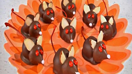 Halloween Chocolate Mice