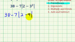 Ex 5:  Simplify Expressions Involving Integers Using the Order of Operations
