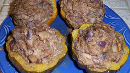Stuffed Vegetables with Sheikh El Mahshi Filling