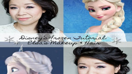 Disney's Frozen Elsa Makeup & 2-in-1 Hairstyle