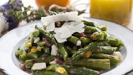 Grilled Asparagus & Egg Salad with Meyer Lemon Vinaigrette
