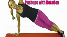 Pushups with Rotations, 7 Minute Fitness
