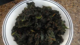 Raw BBQ Flavor Kale Chips