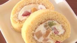 Homemade Japanese Roll Cake