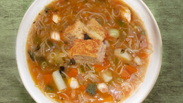 Minesterone with Chicken Soup
