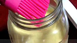 Homemade Non Stick Baking Spray
