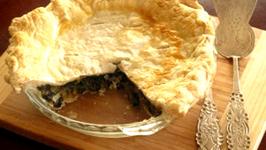 Baked Swiss Chard And Leek Pie