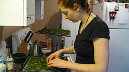 Kale Chips For Snacks