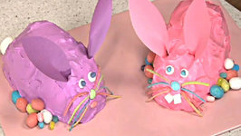 Easter Cakes- How to Make a Bunny Cake