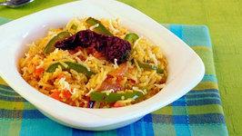 Quick Tava Rice by Tarla Dalal