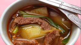 How to Make Korean Radish and Beef Soup Muguk