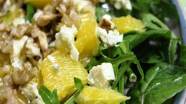 Spinach and Goat's Cheese Salad