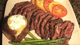 Simple Grilled Hanger Steak