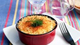 Viennese Noodles Au Gratin