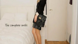 OOTN Trend - The Leather Skirt - Edgy Chic