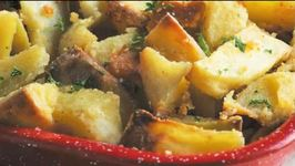 Golden Parmesan Roasted Potatoes