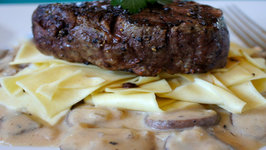 Fillet with Pappardelle Stroganoff