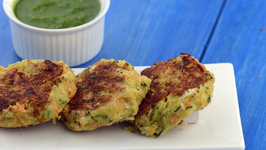 Chick Pea Tikkis (Protein and Calcium Rich for Pregnancy) by Tarla Dalal
