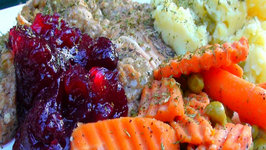 Crockpot Cooking: Turkey and Stuffing Thanksgiving Casserole