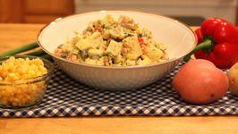 Vegetarian Cold Potato Salad