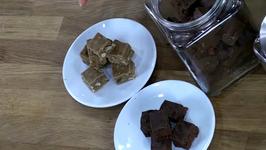 Chocolate Peanut Butter Goji Berry Fudge
