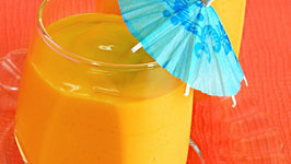 Mango and Orange Smoothie by Tarla Dalal