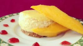 How to Bake Mango Cheesecake
