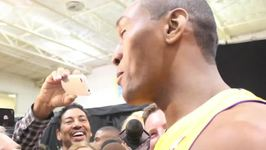 Top Moments from Metta World Peace on Lakers Media Day