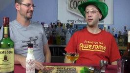 The Irish Cherry - Saint Patrick's Day Cocktail