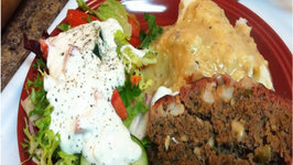 Shrimp & Cheddar Meatloaf