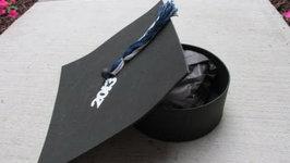 DIY: Graduation Cap Gift Box Craft Tutorial