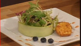 Farm Fresh Salad with Brie Croutons
