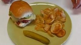 Home Fried Potato Chips