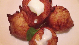 Scallop Fritters