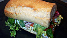 Nutritious Seafood Salad Sandwich