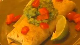 Green-N-Bean Burrito
