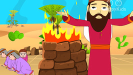 Episode-82-Elijah And The Prophets Of Baal- Bible Stories for Kids