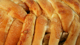 Holiday Apple and Cheese Braid
