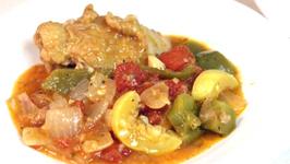 Cuban Chicken Cacciatore