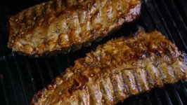 Barbecued Asian Back Ribs