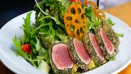 Hukilau / Pagoda  - Ahi Katsu Salad