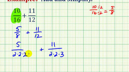 Example 2: Adding Fractions with Unlike Denominators