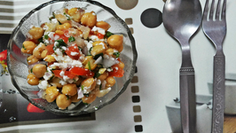 Indian Chickepea Salad