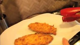 Potato Chip Chicken Schnitzel
