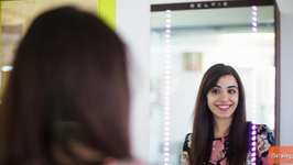 Automated Mirror Takes and Posts Selfies for You