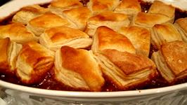 Salsa Beef Biscuit Bake