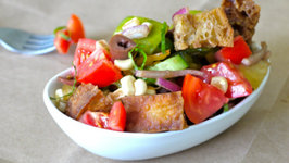 Veggies Bread Salad