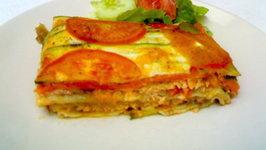 Super Veggie and Salmon Lasagna