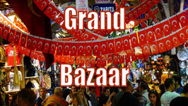 Shopping at the Grand Bazaar in Istanbul, Turkey