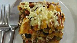 Pastelon - Plantain and Meat Casserole